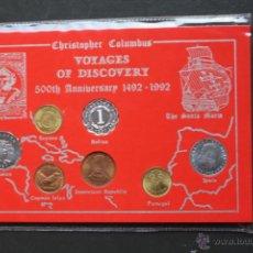 Monedas de España: CRISTOBAL COLON. MONEDAS DE LOS PAISES DEL 500 ANIVERSARIO. Lote 48639421