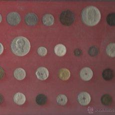 Monedas de España: ESTUCHE CON LA COLECCION DE MONEDAS DE LA HISTORIA DE LA PESETA VER FOTOS. Lote 136509728