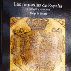 Monedas de España: LAS MONEDAS DE ESPAÑA DE CARLOS IV A JUAN CARLOS I EN ORO Y PLATA ALBUM FASCIMIL COMPLETO. Lote 40919449