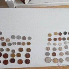Monedas de España: LOTE DE MONEDAS ESPAÑOLAS Y EXTRANJERAS. Lote 49664257
