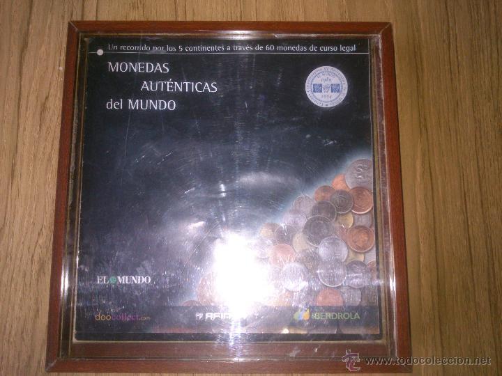 COLECCION MONEDAS AUTENTICAS DEL MUNDO COMPLETO (Numismática - España Modernas y Contemporáneas - Colecciones y Lotes de conjunto)