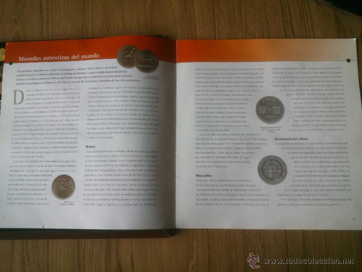 Monedas de España: COLECCION MONEDAS AUTENTICAS DEL MUNDO COMPLETO - Foto 4 - 50056222