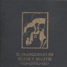 Monedas de España: EL FRANQUISMO EN SELLOS Y BILLETES SELLOS DE CORREO,PAPEL MONEDA Y DÉCIMOS DE LOTERIA BOX31. Lote 51431354