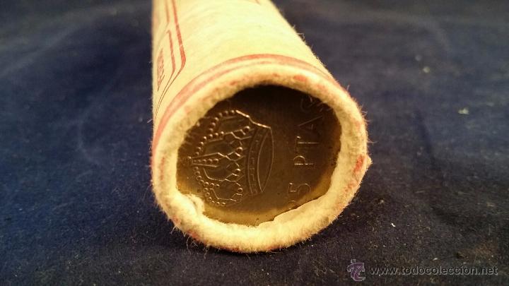Monedas de España: Cartucho de monedas de 25 pesetas - 40 monedas - Foto 4 - 52973564