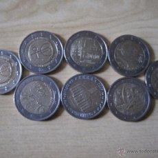 Monedas de España: 8 MONEDAS DISTINTAS DE 2€. Lote 53024492