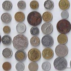 Monedas de España: COLECCION DE 40 MONEDAS DE 13 PAISES EUROPEOS. Lote 53290962