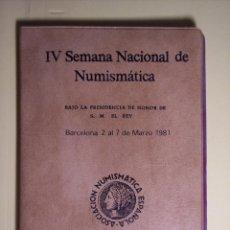 Monedas de España: CARTERITA (IV SEMANA NACIONAL DE NUMISMATICA (1ª COLECC. CONMEM. DE S.M. J. CARLOS I (ESPAÑA'82 *80). Lote 53815788