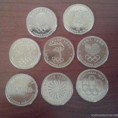 Moedas de Espanha: LOTE 8 MONEDAS JUEGOS OLIMPICOS OLIMPIADAS. Lote 55805404