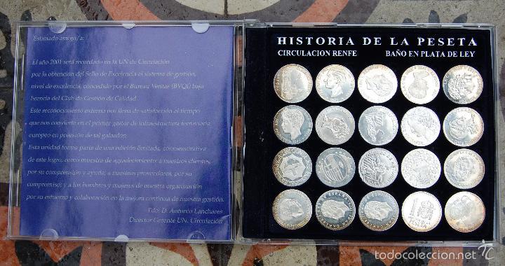 Historia De La Peseta En Plata Colección Renfe Comprar Colecciones