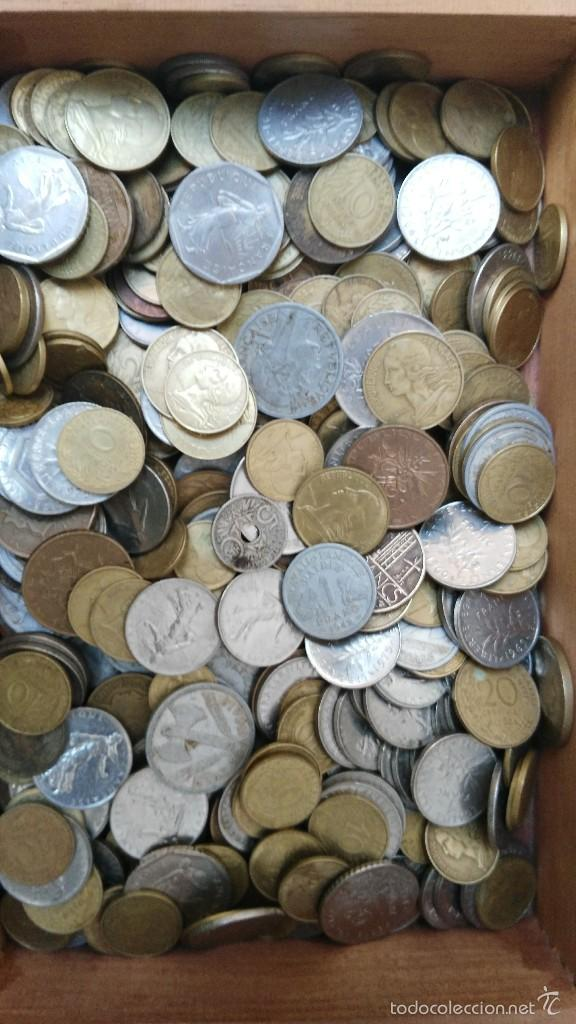 LOTE DE 430 MONEDAS DE FRANCIA ANTIGUAS (Numismática - España Modernas y Contemporáneas - Colecciones y Lotes de conjunto)
