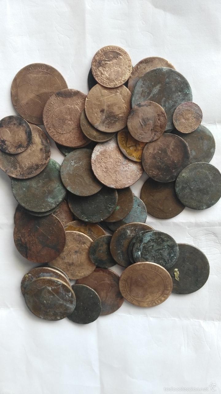 LOTE DE 45 MONEDAS (Numismática - España Modernas y Contemporáneas - Colecciones y Lotes de conjunto)