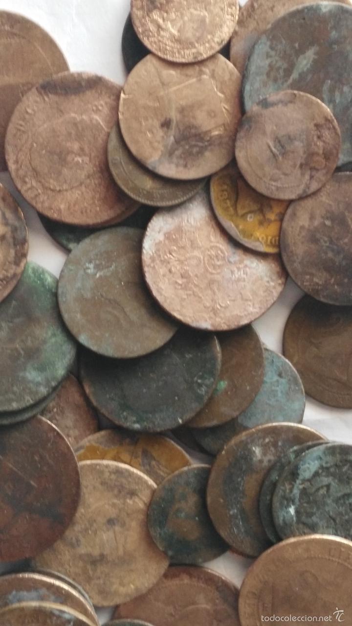 Monedas de España: LOTE DE 45 MONEDAS - Foto 2 - 58148546