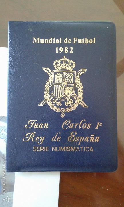 CARTERITA MUNDIAL DE FUTBOL 82 (Numismática - España Modernas y Contemporáneas - Colecciones y Lotes de conjunto)