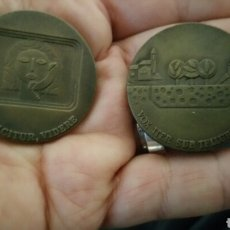 Monedas de España: PAREJA DE MONEDAS CONMEMORATIVAS DE LA COMPAÑÍA NACIONAL TELEFÓNICA ESPAÑOLA AÑO 1970 Y 1973. Lote 63287811