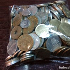 Monedas de España: GRAN LOTE 1 KILO DE MONEDAS ESPAÑOLAS MAS DE 350 VER DETALLE. Lote 195321348