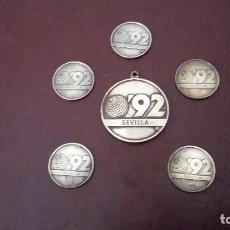 Monedas de España: MONEDAS CONMEMORATIVAS EXPOSICIÓN 92 SEVILLA. Lote 71063637