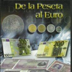 Monedas de España: OPORTUNIDAD COLECCION COMPLETA DE LA PESETA AL €URO 120 BILLETES Y 13 MONEDAS DE PLATA ESTAPERFECTO. Lote 205025535