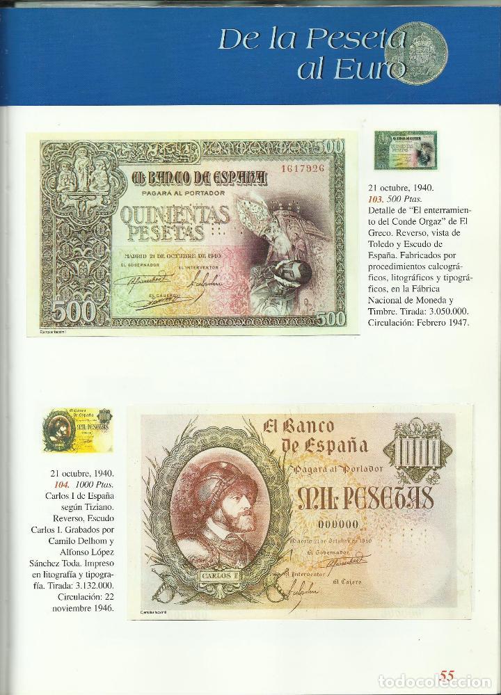 Monedas de España: OPORTUNIDAD COLECCION COMPLETA DE LA PESETA AL €URO 120 BILLETES Y 13 MONEDAS DE PLATA VER FOTOS - Foto 2 - 71935347