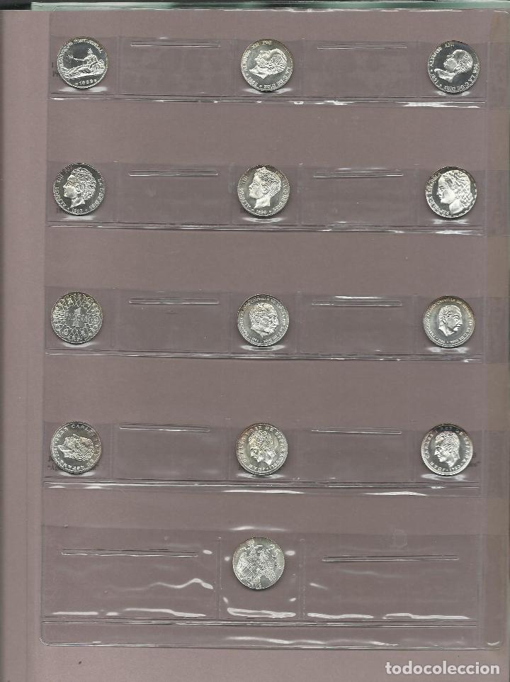Monedas de España: OPORTUNIDAD COLECCION COMPLETA DE LA PESETA AL €URO 120 BILLETES Y 13 MONEDAS DE PLATA VER FOTOS - Foto 3 - 71935347