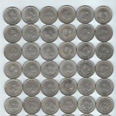 Monedas de España: LIQUIDACIÓN LOTE DE 5O MONEDAS DE 50 PESETAS AÑOS 1957 *58 Y UNA *71- DE FRANCISCO FRANCO. Lote 71938011