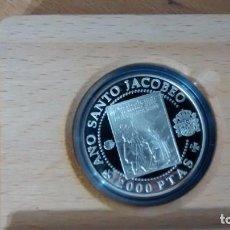 Monedas de España: AÑO JACOBEO. PEREGRINOS ALEMANES. 1993. MONEDA CON ESTUCHE. Lote 72400439