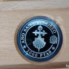 Monedas de España: AÑO JACOBEO. CRUZ DE SANTIAGO. 1993. MONEDA CON ESTUCHE. Lote 72400991