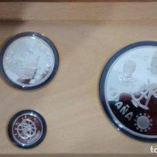 Monedas de España: ECU. ESTUCHE DE 3 MONEDAS. 1996. Lote 72401979