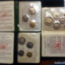 Monedas de España: PRUEBAS NUMISMÁTICAS DE F.N.M.T. DE JUAN CARLOS I - JUEGOS OFICIALES- 3 CARTERAS DIFERENTES. Lote 145002472