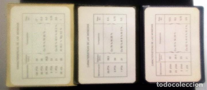 Münzen von Spanien: PRUEBAS NUMISMÁTICAS DE F.N.M.T. DE JUAN CARLOS I - JUEGOS OFICIALES- 3 CARTERAS DIFERENTES - Foto 3 - 132339737