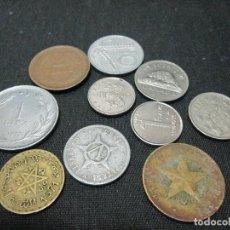 Monedas de España: 10 MONEDAS VARIADAS EXTRANGERAS. Lote 75616275