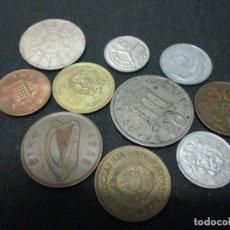 Monedas de España: 10 MONEDAS EXTRANGERAS VARIADAS. Lote 75617555