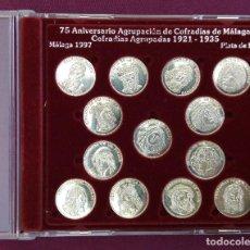 Monedas de España: COLECCIÓN MONEDAS DE PLATA DE LEY. Lote 81241700