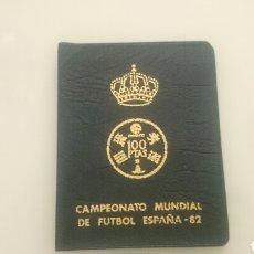 Monedas de España: CARTERA MONEDAS MUNDIAL 82 . Lote 82272536