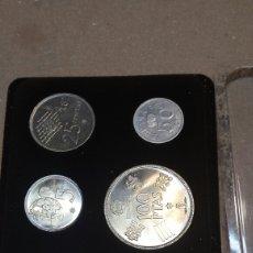 Monedas de España: COLECCIÓN DE MONEDAS ESPAÑA MUNDIAL 82. Lote 85168035