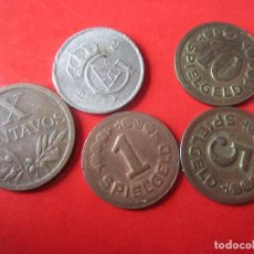 Monedas de España: LOTE DE 5 MONEDAS EXTRANJERAS VARIADAS. Lote 85206456