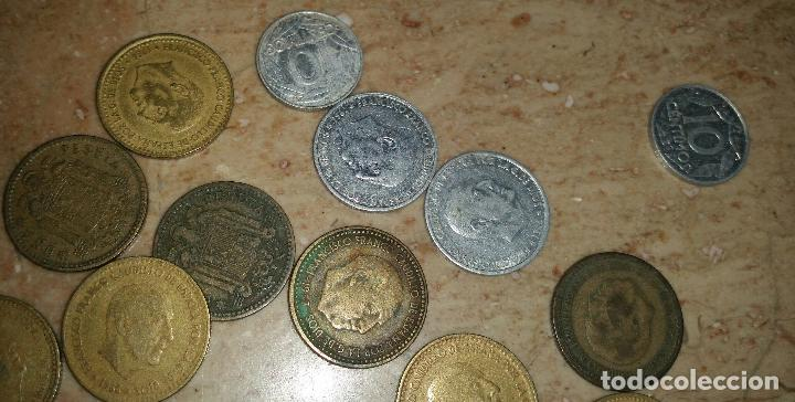 Monedas de España: LOTAZO UNAS 120 MONEDAS DE FRANCO AÑOS COMPRENDIDOS ENTRE 1947 A 1966 - Foto 2 - 86658716