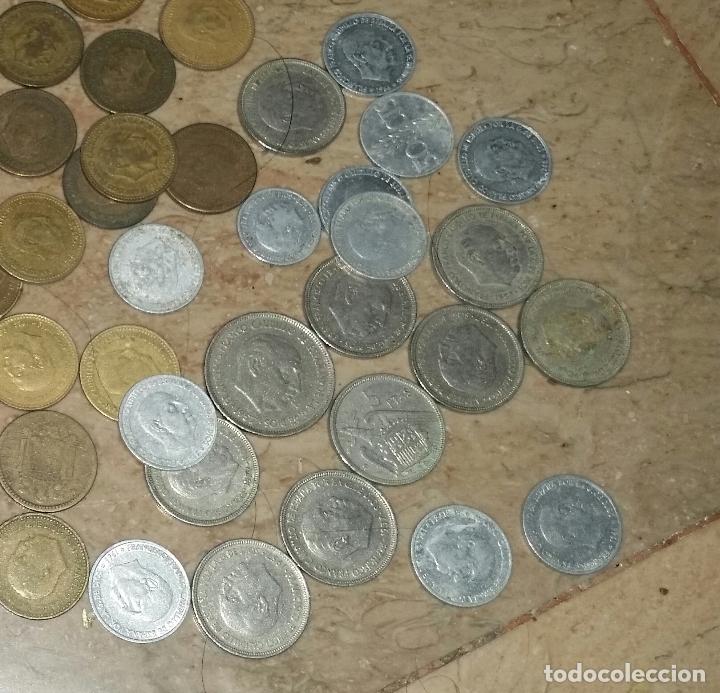 Monedas de España: LOTAZO UNAS 120 MONEDAS DE FRANCO AÑOS COMPRENDIDOS ENTRE 1947 A 1966 - Foto 5 - 86658716