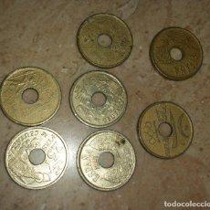 Monedas de España: LOTE 7 MONEDAS DE 25 PESETAS AÑOS 90 INSCRIPCIONES PROVINCIAS ESPAÑOLAS. Lote 86667592
