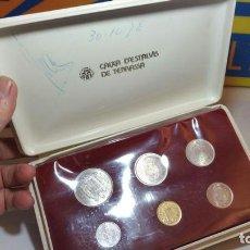 Monedas de España: COLECCION DE CAJA DE AHORROS DE TERRASSA PESETAS DE 1975. Lote 87051528