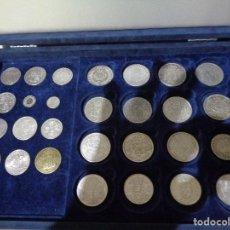 Monedas de España: LOTE MONEDAS ESPAÑOLAS Y EXTRANJERAS DE PLATA. Lote 90180364