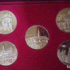 Monedas de España: COLECCIÓN DE 5 MONEDAS MIEMBROS CEE. LOTE 1. Lote 91562655