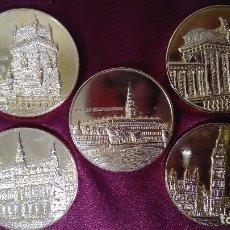 Monedas de España: COLECCIÓN DE 5 MONEDAS MIEMBROS CEE. LOTE 2. Lote 91563180