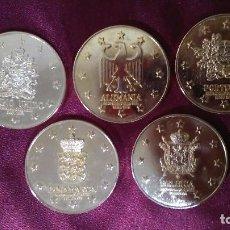 Monedas de España: COLECCIÓN DE 5 MONEDAS MIEMBROS CEE. LOTE 3. Lote 91563785
