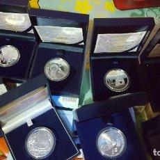 Monedas de España: LOTE DE MONEDAS Y ECUS, MIREN DESCRIPCION TODAS DE PLATA Y CON SUS CERTIFICADOS. Lote 93127325