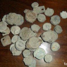 Monedas de España: SELLOS DE PAQUETERÍA DE PLOMO ANTIGUOS. Lote 93366005