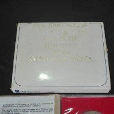 Monedas de España: MONEDA PLATA CONMEMORATIVA NUMISMA S.A. . JUAN CARLOS Y DOÑA SOFIA AL ENCUENTRO PUEBLOS DE ESPAÑA.. Lote 94538519