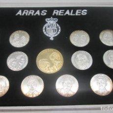 Monedas de España: ESTUCHE 13 ARRAS REALES, PRINCIPE FELIPE Y DOÑA LETIZIA ORTIZ. Lote 95621643