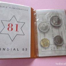 Monedas de España: CARTERA-MONEDAS ESPAÑA MUNDIAL 1982*81-PERFECTO ESTADO-VER FOTOS.. Lote 95941955