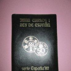 Monedas de España: CARTERA MONEDAS-SERIE ESPAÑA 1982*80-MUNDIAL ESPAÑA DE FUTBOL-NUEVA-VER FOTOS-ORIGINAL-. Lote 95969091