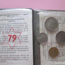 Monedas de España: CARTERA MONEDAS-ESPAÑA-JUAN CARLOS I-1979-NUEVA-VER FOTOS.. Lote 95970755
